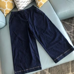 NWOT High Waisted Culottes